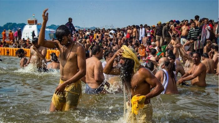 Does bathing in the Ganges actually lead to heaven, as Shivaji himself has stated