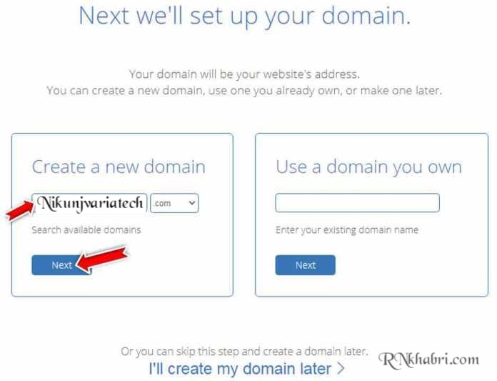 Bluehost Domain Name